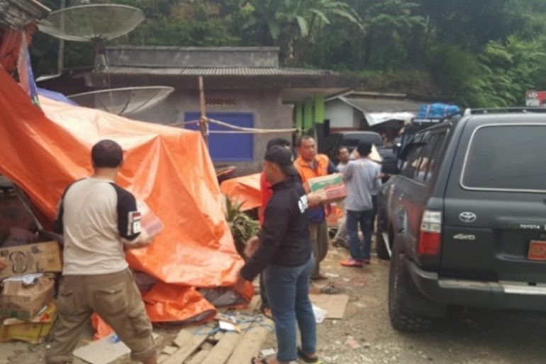 HCML Aids Survivors of Sunda Strait Tsunami